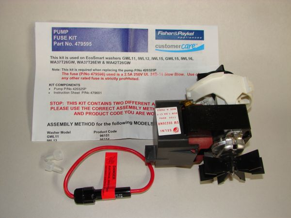 479595 Fisher Paykel Washer Pump